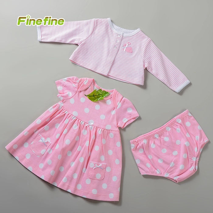 USA Style Name Brand Girls Baby Clothing