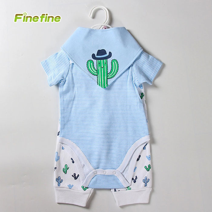 3 Pieces Pack Baby Boys Clothing Sets