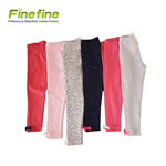 Custom Cotton Knitted Baby Girl Legging Pant