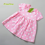 Fancy Jersey Cotton Baby Dress