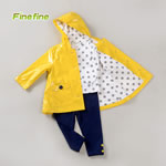 3Pieces Girls Clothing Sets In Yellow
