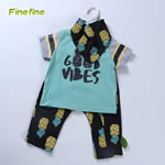 Newborn Infant Bib, Tee And Pant For Boy